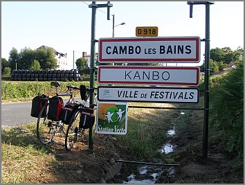 ortsschild cambo-les-bains